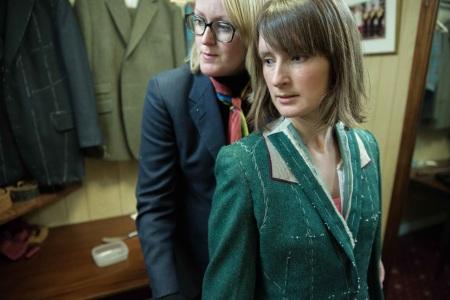 Kathryn Sargent tweed