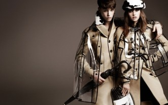 Burberry Transparent Raincoat